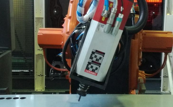 Roboterbearbeitung